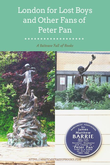 London Peter Pan Pin