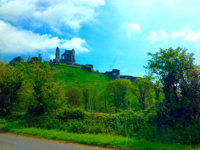 Corfe Castle View