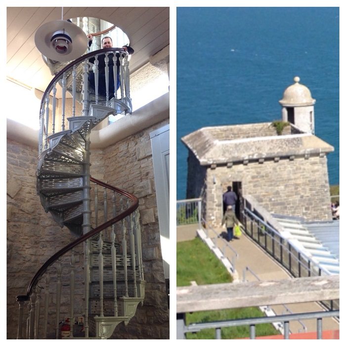 Durlston Castle Features