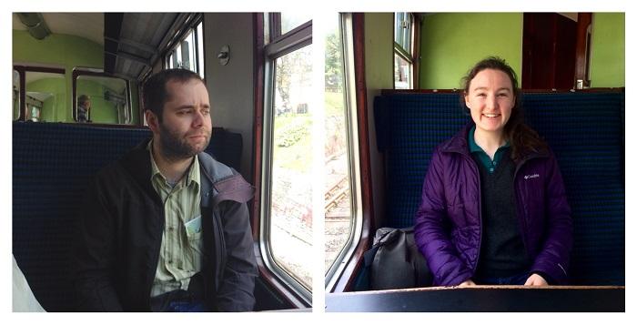 Riding Swanage Steam Engine Train