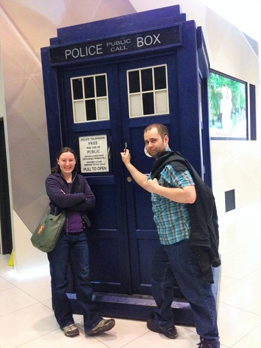BBC News TARDIS-Time Travel