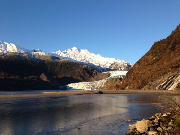 I live by a glacier. It's no big deal.