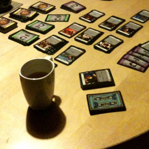 3 days of tea and Dominion (the card game)