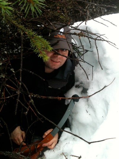 Caching in a snowbank