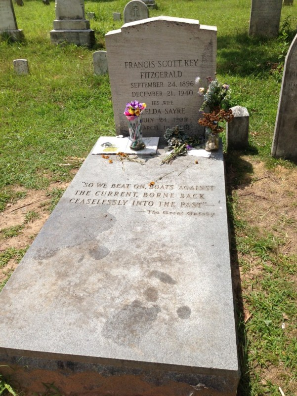 Grave of F. Scott Fitzgerald