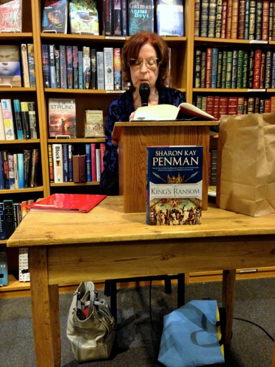 Sharon Kay Penman reading her latest novel