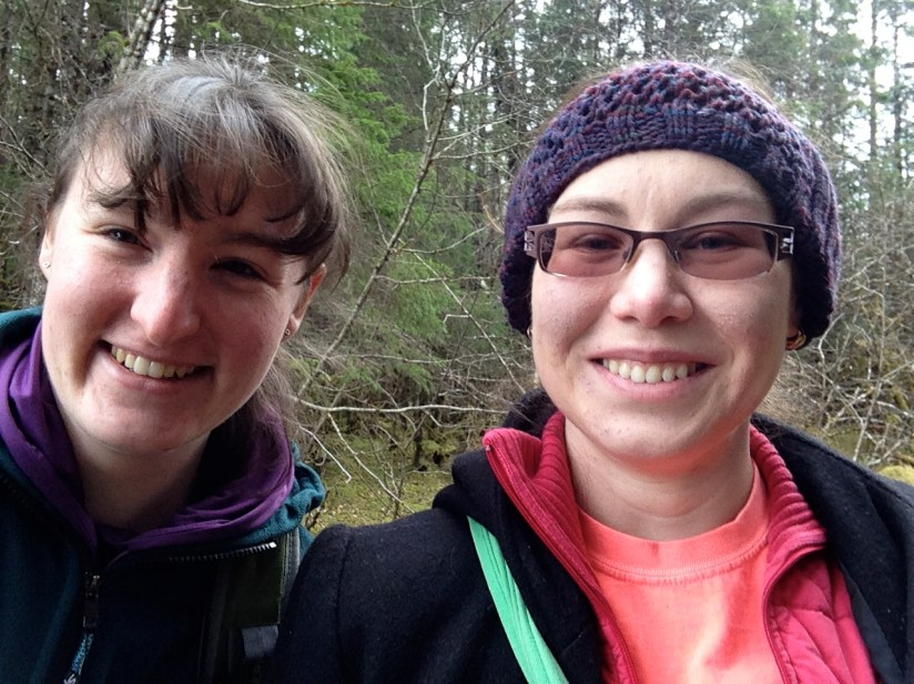 Maeghan gets the prize for joining me on the majority of the caching adventures! And she's still speaking to me!