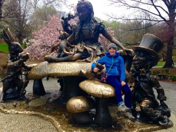 Alice in Wonderland in Central Park
