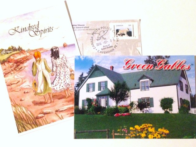 Green Gables Post Cards