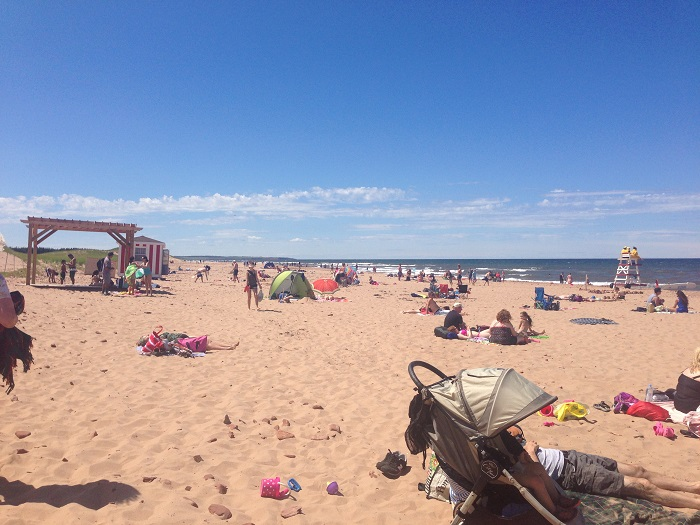 Cavendish Beach Prince Edward Island