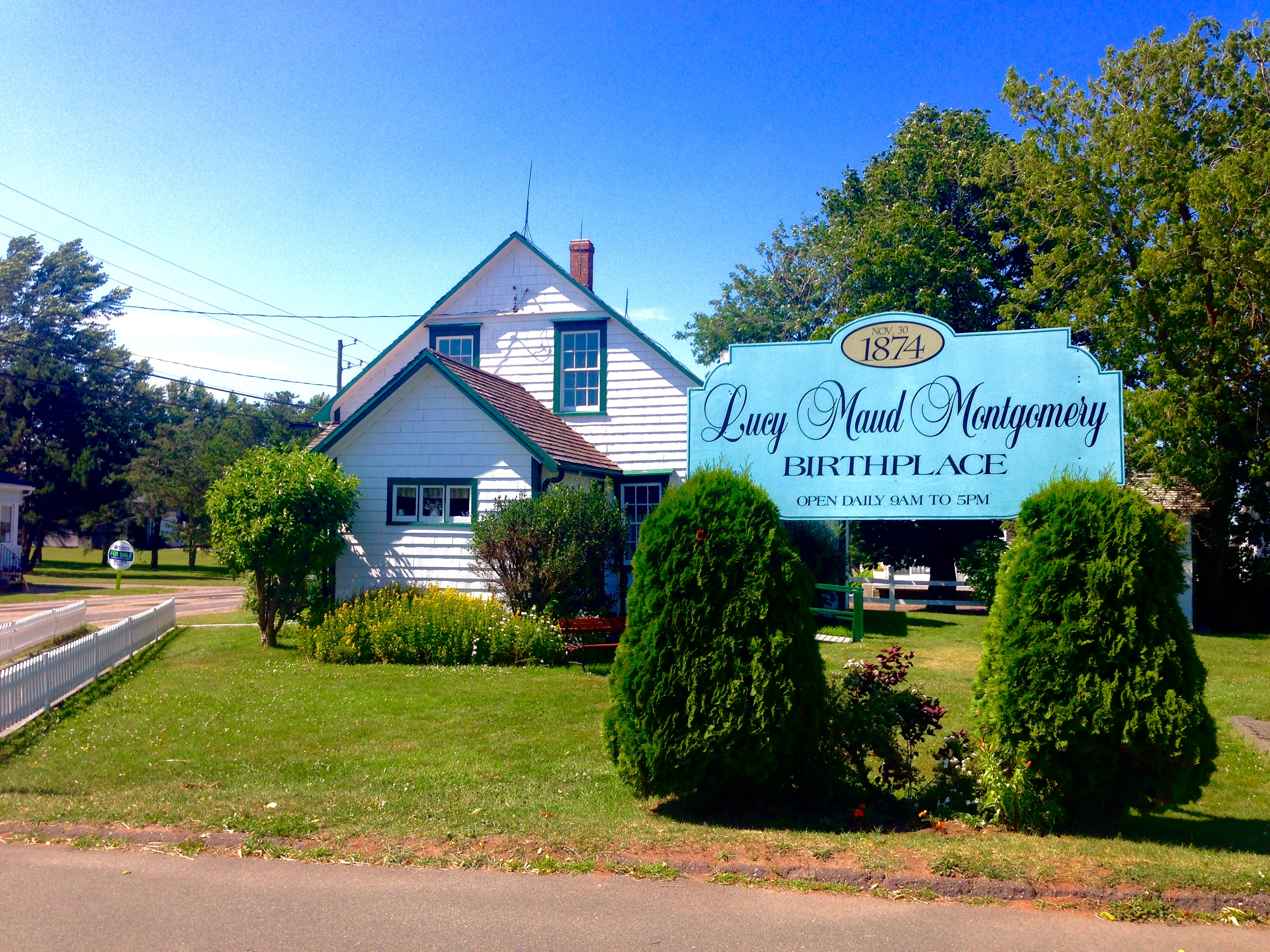 Pei Lucy Maud Montgomery 39 S Birthplace The Anne Of Green
