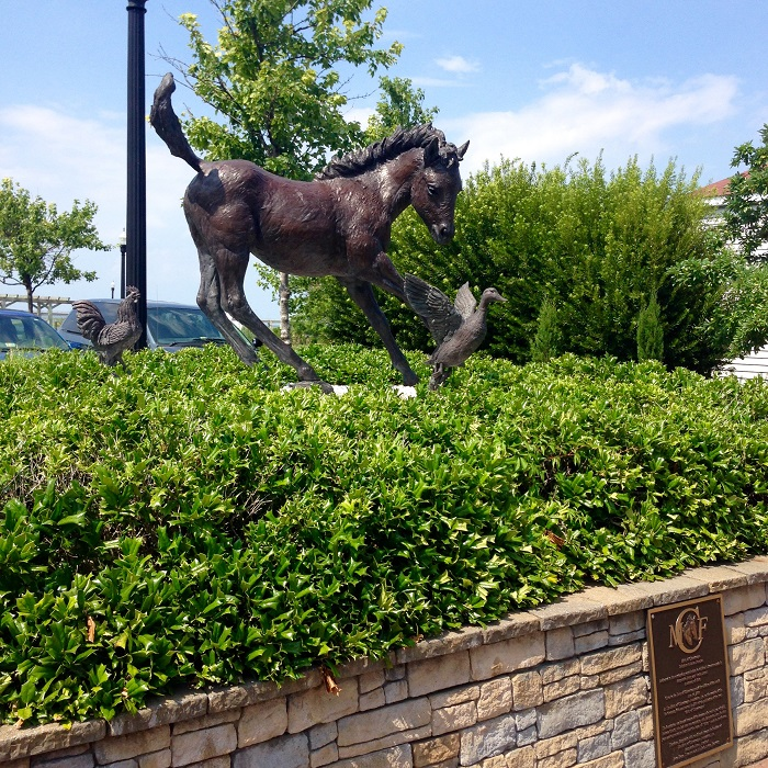 Misty of Chincoteague Statue