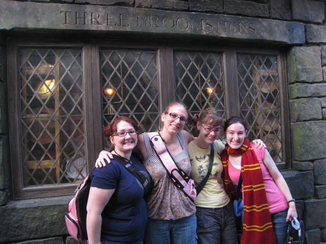 Harry Potter World, Orlando with frineds