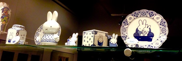 Miffy in Delft Blue