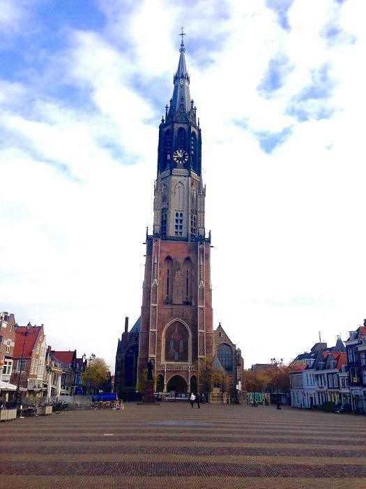 Delft New Church & Market Square