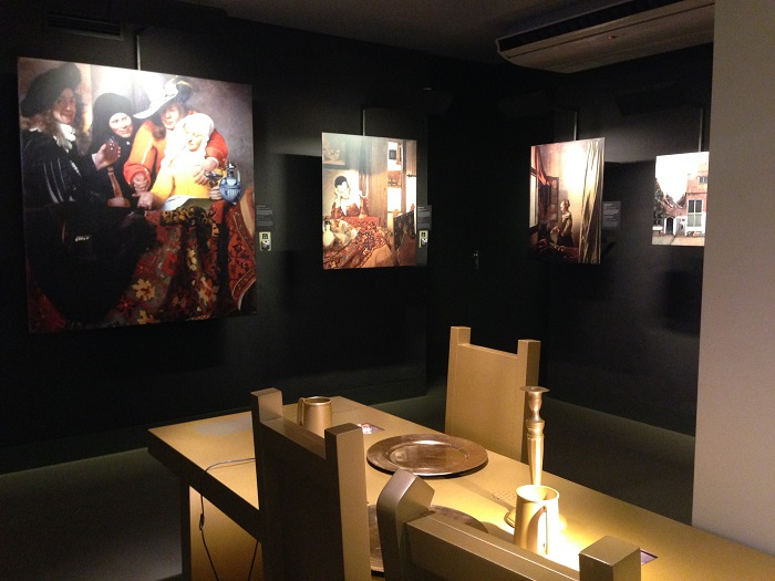 Vermeer's Paintings & Guild Table