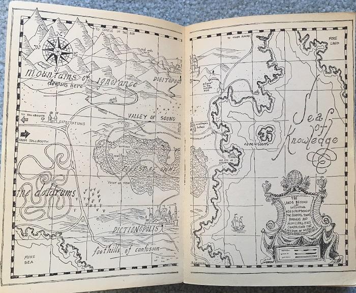 Phantom Tollbooth Map