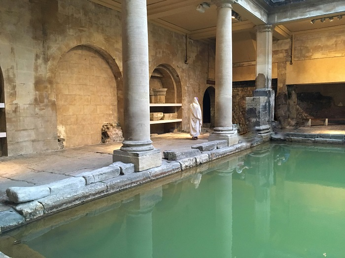 A Roman at the Baths