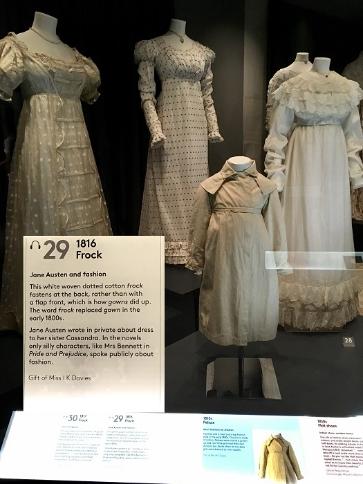Bath Fashion Museum Regency Frock