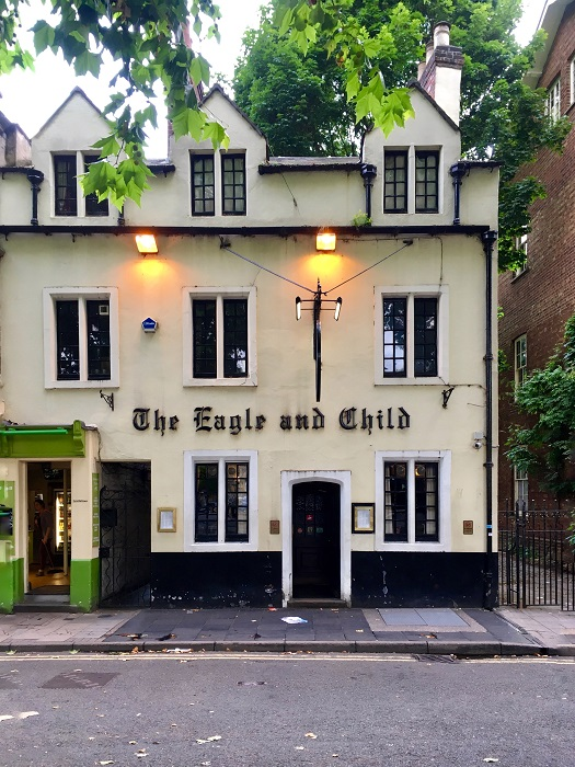 Literary Oxford: The Eagle and the Child