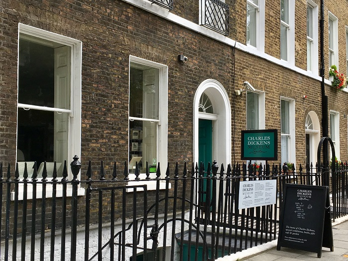 London Literary Site: Charles Dickens Museum