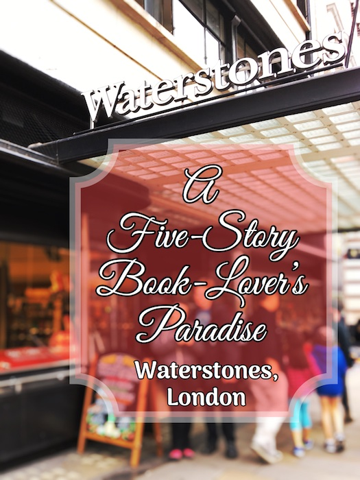 Waterstones Bookstore, London