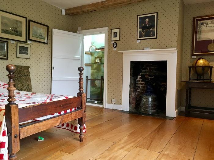 Jane Austen's House Museum Interior