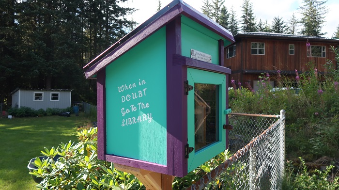 Klondike Corner Little Free Library