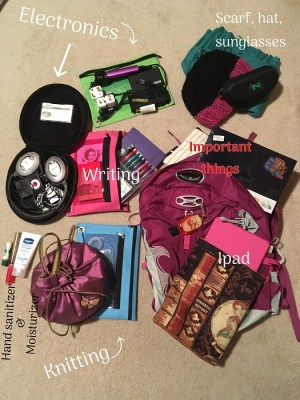 pack for prince edward island: Backpack packing