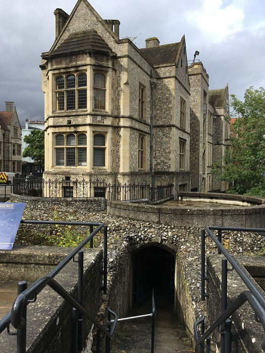 Winchester Great Hall Escape Tunnel