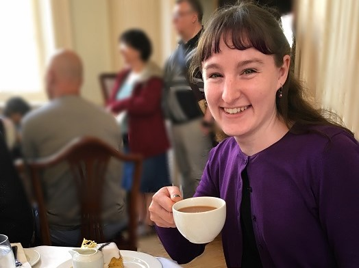 Tea at the Pump Room, Bath, England