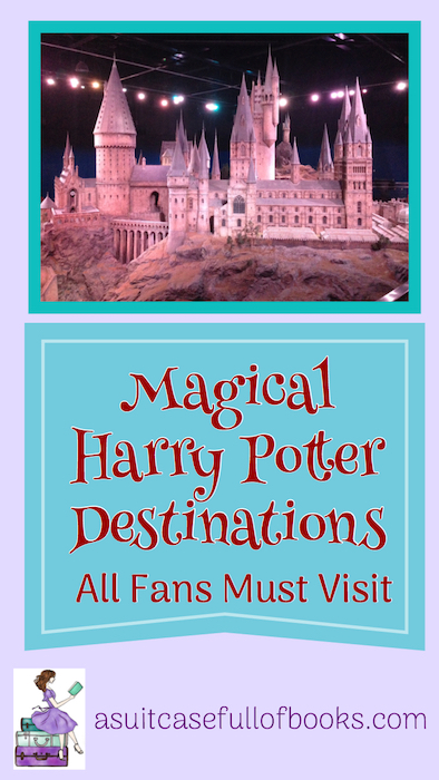 Harry Potter Destinations Pinterest Pin