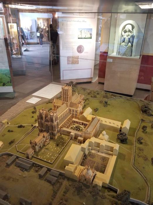 Glastonbury Abbey Medieval Model
