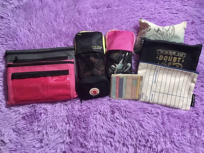2019 Travel Gear: Packing Pouches
