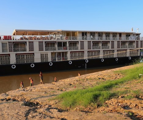 Myanmar Irrawaddy River Cruise Itinerary