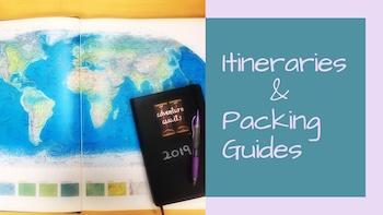 Itineraries & Packing Guides