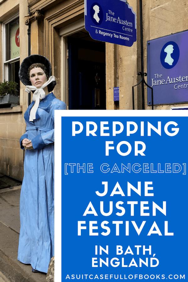 Jane Austen Fest Prep Pin