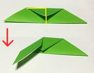 折り紙 クリスマスリース 作り方 簡単