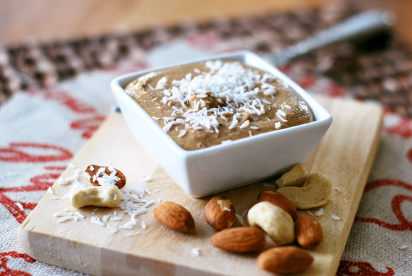 Toasted Coconut Almond Cashew Butter
