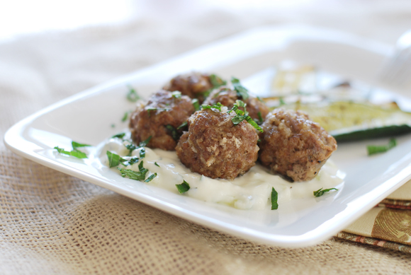 Spiced Lamb Meatballs