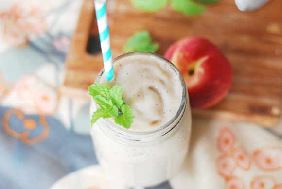 Melon Peach Creamsicle Smoothie