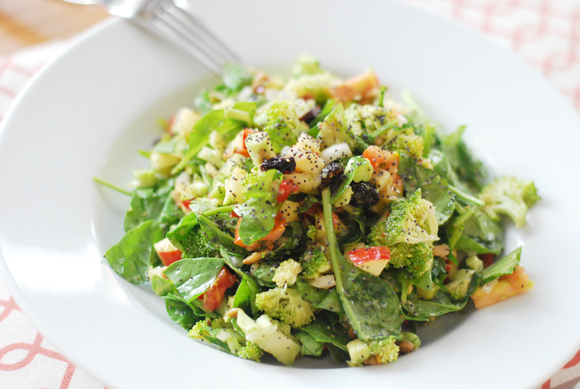 Lemon Poppyseed Detox Salad