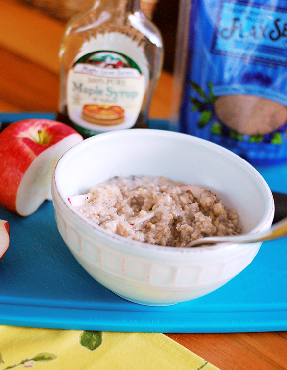 Apple Cinnamon Rice Cooker Steel Cut Oats