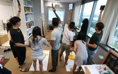 Makey Makey Game Workshop 華碩新加坡設計中心