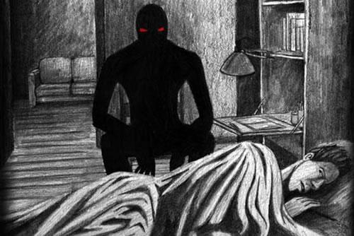 sombras fantasmales