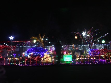 Christmas Lights in the neighbourhood