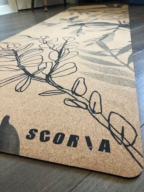 Scoria Cork Yoga Mat