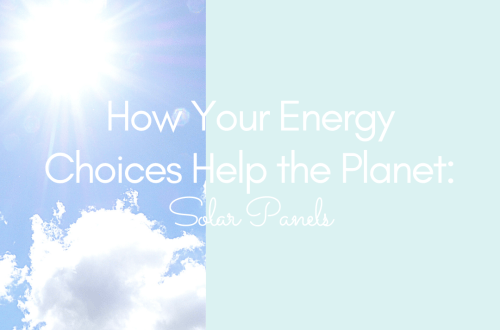 how your energy choices help the planet