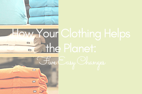 how your clothing helps the planet