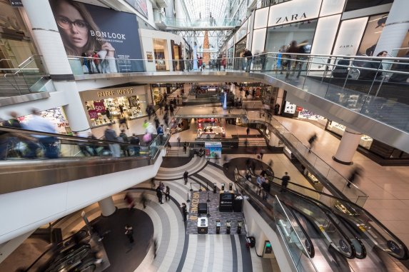 Shopping Malls. A haven for fast fashion